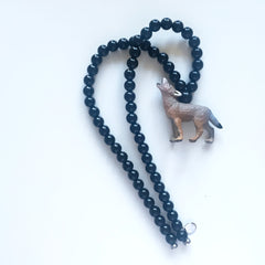 The Wolf Necklace  - More colour options.