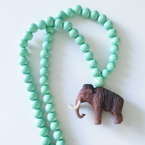 The Mammoth Necklace  - More colour options.