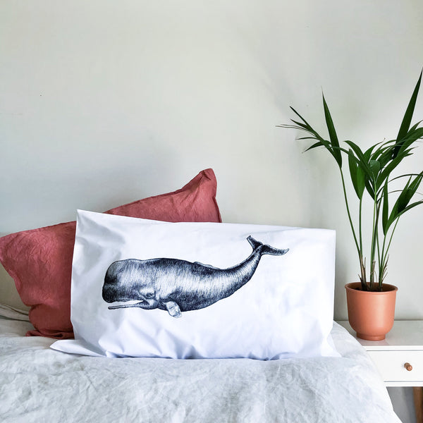 Sperm Whale Pillowcase