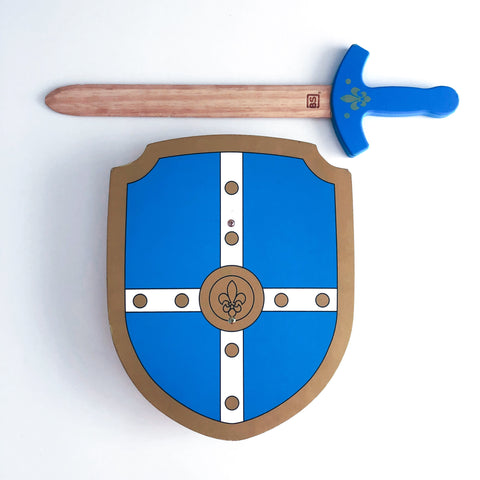 Wooden Sword & Shield set