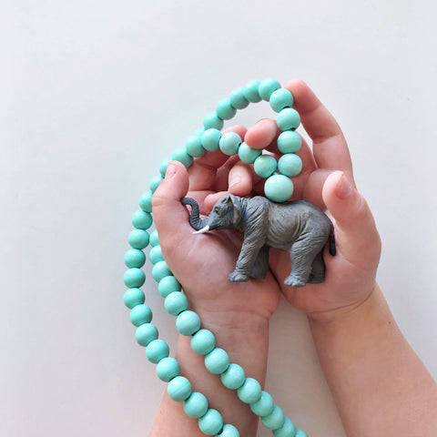 The Elephant Necklace  - More colour options.