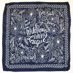 Wildflower Liberty League Bandana - More colour options.