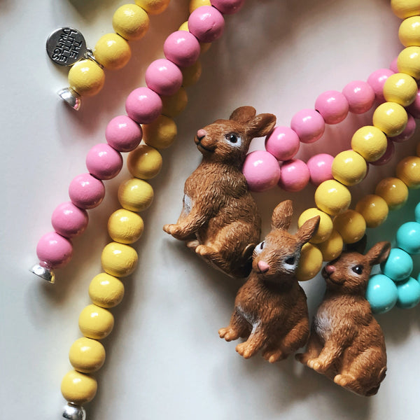 The Bunny Necklace. - more colour options.