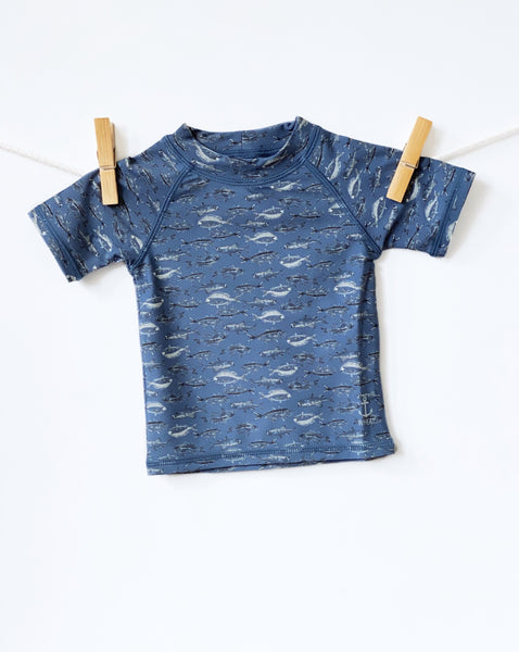 Swim T-Shirt Jackie SS Bearing Sea - Baby