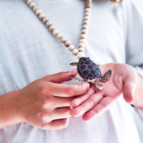 The Turtle Necklace - More colour options.