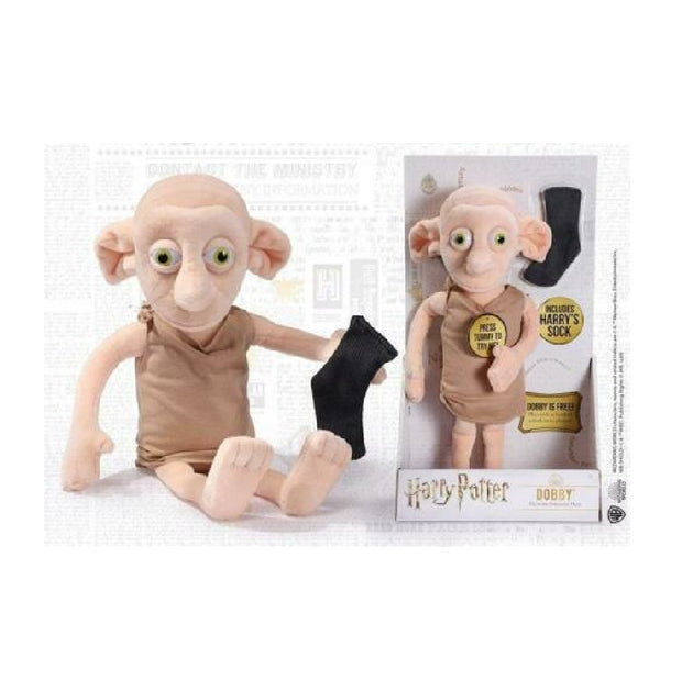 Harry Potter Peluche Interattivo Dobby The Noble Collection