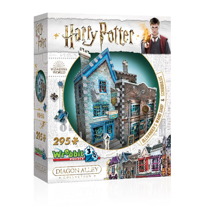 Harry Potter Puzzle 3D Diagon Alley Ollivander & Scribbulus Wrebbit