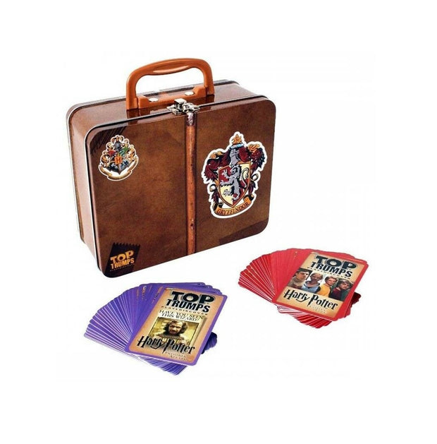 Harry Potter Top Trumps Valigetta In Metallo Grifondoro Gryffindor