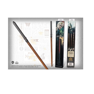Harry Potter Bacchetta Blister Draco Malfoy The Noble Collection