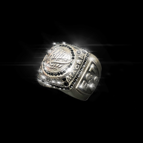 RUFUS - SUPERBOWL CHAMP RING - BLACK