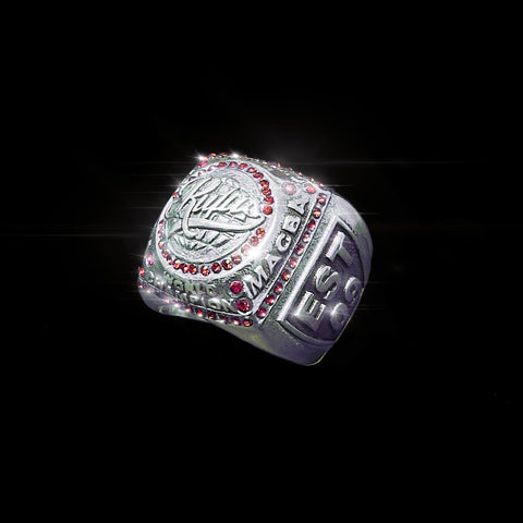 RUFUS - SUPERBOWL CHAMP RING - RED