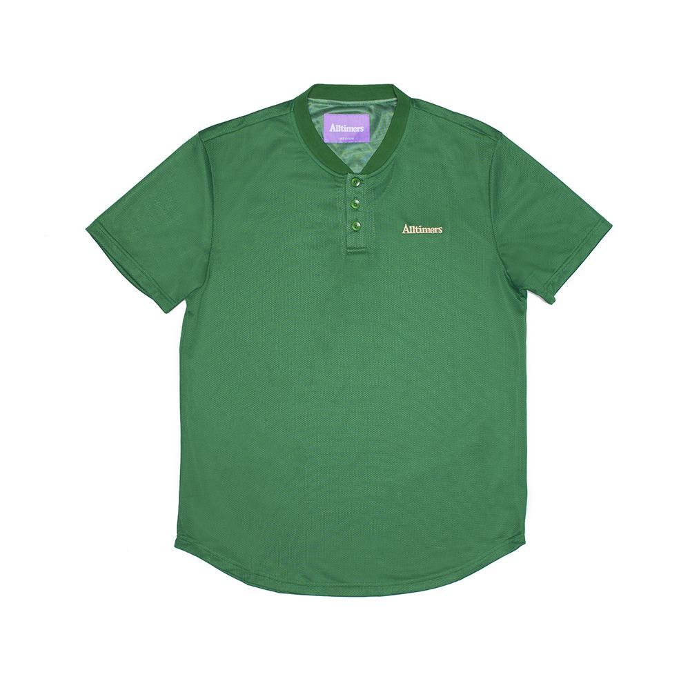 ALLTIMERS - FOREIGN MESH TOP FOREST GREEN TEE