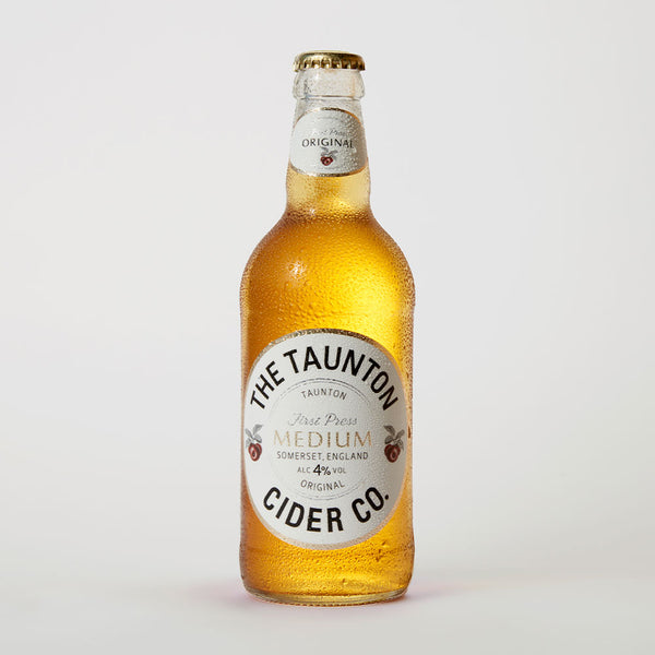 Taunton Cider Co. Medium 4% Cider, 12 Bottles
