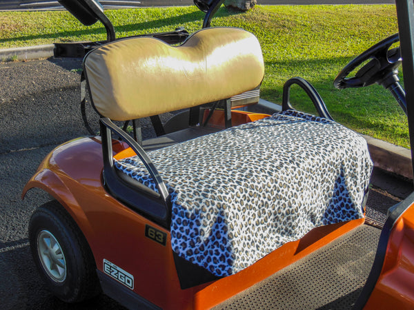 Golf Cart Seat Cover - Leopard