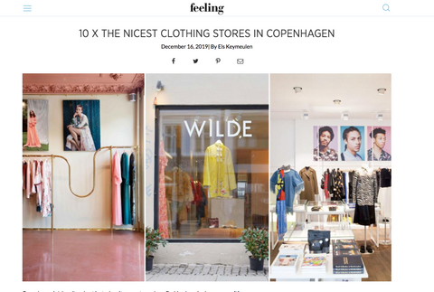 The Wilde Shop fashion press article best clothes store in Copenhagen