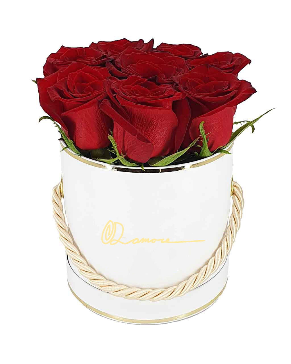 Mini Rose Basket