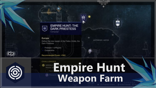 Empire Hunts - Weapon Farm