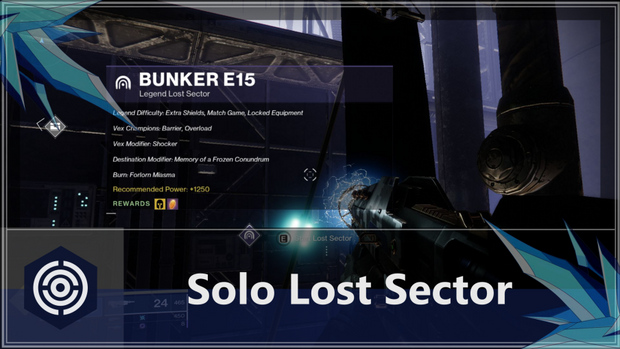 Solo Lost Sector