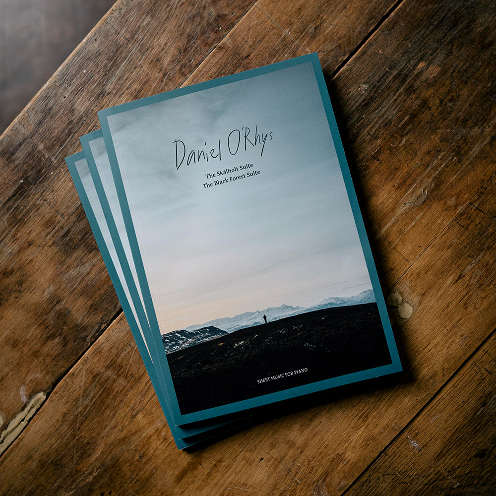 Daniel O'Rhys - Sheet Music for Piano (Book + CD)