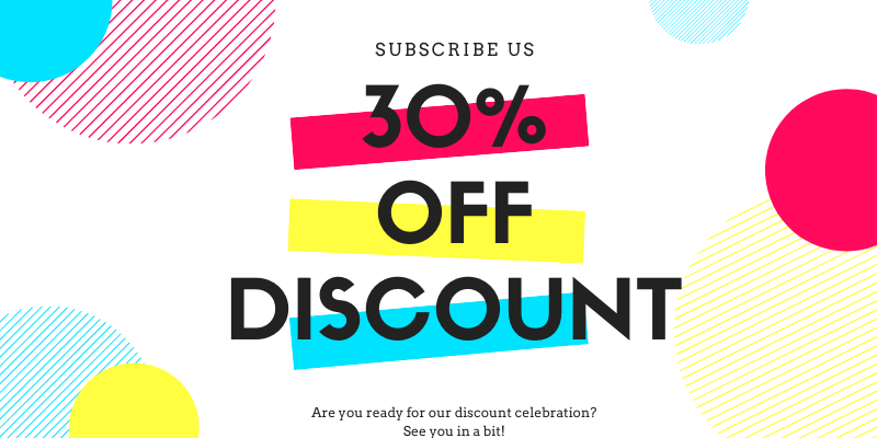 30% off discount