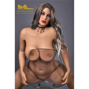 156cm European and American face, big breasts, big ass, fat silver hair sex doll Mia - tpesexdoll.com
