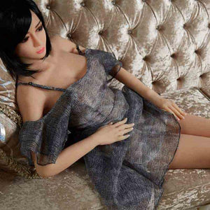 6ye sex doll 170cm Japanese style skinny big breasts and big eyes love doll Qingqi - tpesexdoll.com