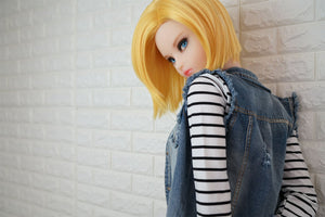 DollHouse 168 145cm Realistic Sex Doll - Lazuli / Android 18 - tpesexdoll.com