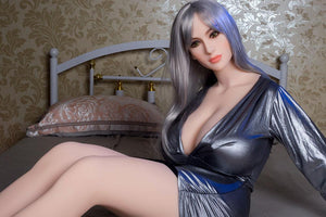 Jessy - WM 167cm J cup super huge breasts life size female adult doll masturbation Silicone Adult Sex Doll Cheap - tpesexdoll.com