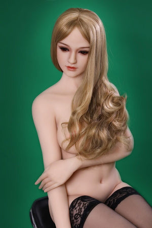 SanHui 158cm silicone medium boobs blown hair sex doll -lanying - lovedollshops.com