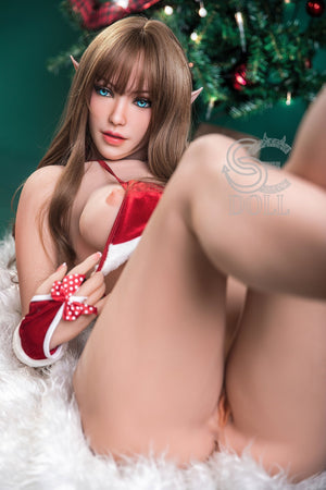 SE167cm Medium Breasts Tall Slender Elf Brown-haired Christmas Sex Doll Huarily - tpesexdoll.com