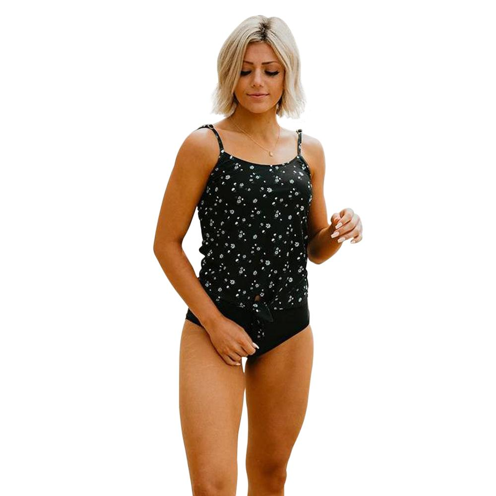 Stinson Floral Knotted Tankini