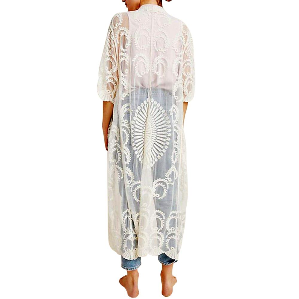 Palm Lace Cover Up