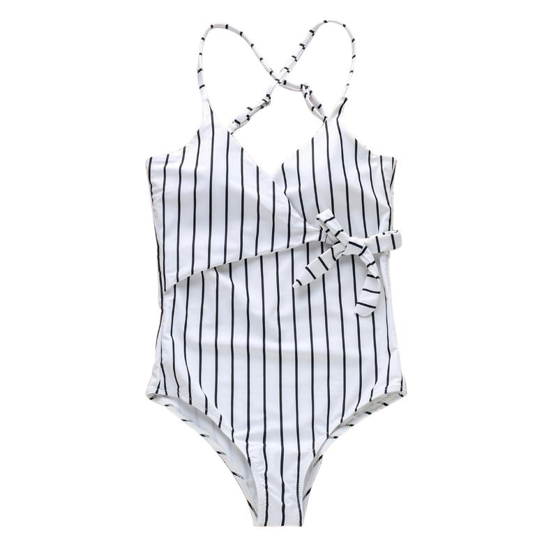 Bower Backless Striped One Piece
