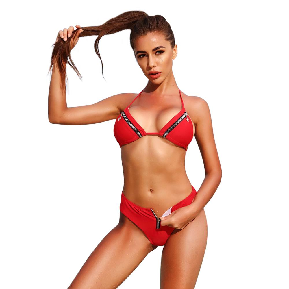 Tumon Triangle Push Up Bikini
