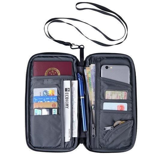 Passport Card Wallet Travel Organizer
