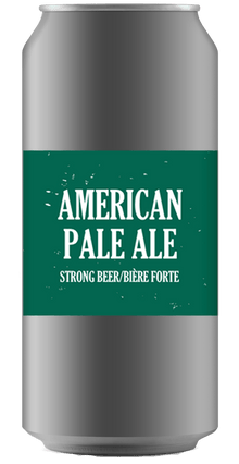 AMERICAN PALE ALE [CROWLER CAN] Ridge Rock Brewing Company