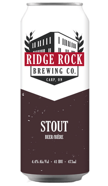 AMERICAN STOUT [CAN 473ml] Ridge Rock Brewing Company