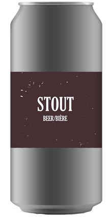 AMERICAN STOUT [CROWLER CAN] Ridge Rock Brewing Company