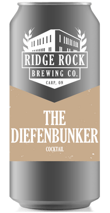 DIEFENBUNKER [CROWLER COCKTAIL] Ridge Rock Brewing Company