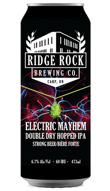 Electric Mayhem DDHIPA [can 473ml] Ridge Rock Brewing Company