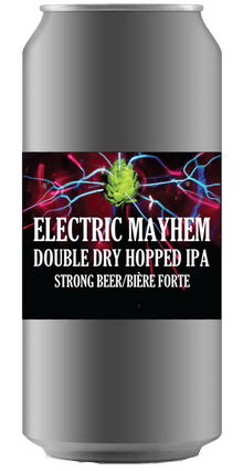 Electric Mayhem DDHIPA [Crowler Can] Ridge Rock Brewing Company
