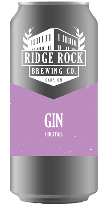Gin [Crowler Cocktail] Ridge Rock Brewing Company