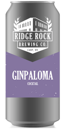 GIN PALOMA [CROWLER COCKTAIL] Ridge Rock Brewing Company