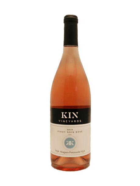 Kin Vineyards Pinot Noir Rose - Breast Cancer Awareness Ridge Rock Brewing Company