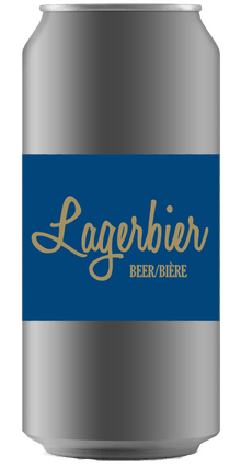 LAGERBIER [CROWLER CAN] Ridge Rock Brewing Company