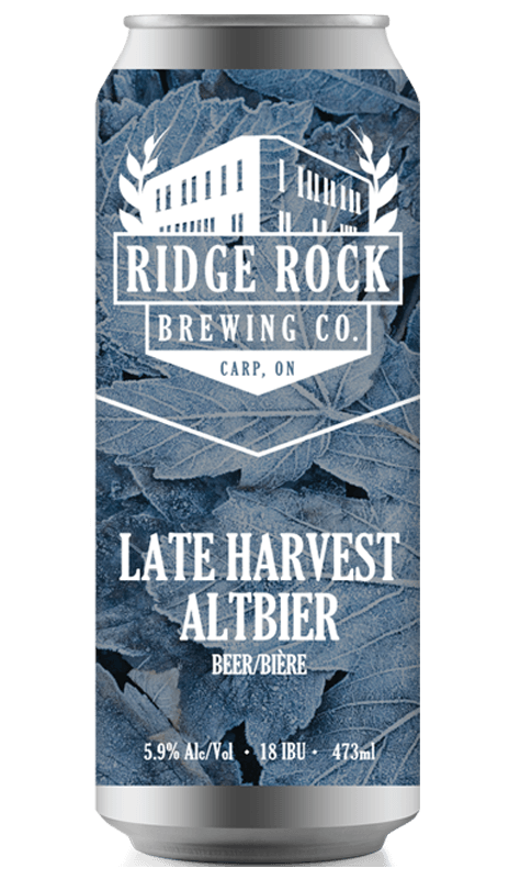 LATE HARVEST ALTBIER [can 473ml] Ridge Rock Brewing Company