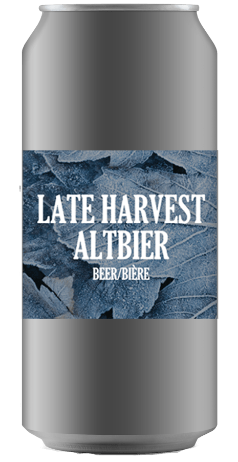LATE HARVEST ALTBIER [CROWLER CAN] Ridge Rock Brewing Company