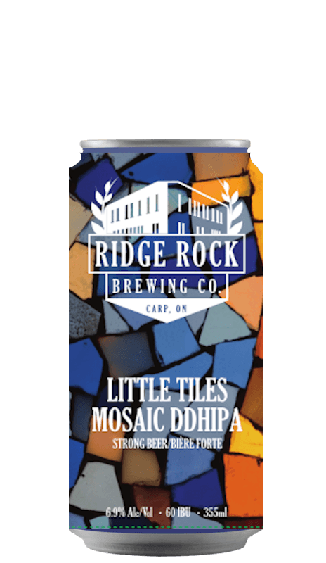 LITTLE TILES DDHIPA (355mL) Ridge Rock Brewing Company