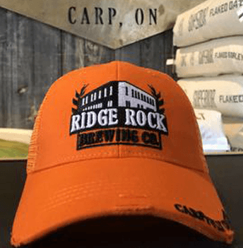 Orange Classic Hunter Hat Ridge Rock Brewing Company