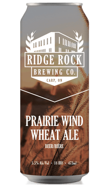 PRAIRIE WIND WHEAT ALE [CAN 473ml] Ridge Rock Brewing Company